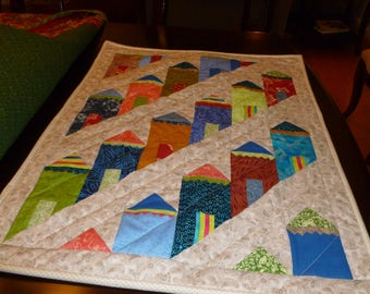 Patchwork Quilted Wall Hanging