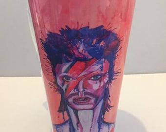 David Bowie Latte mug