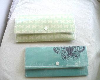 Travel Wallet, Slim Wallet, Women's Wallet, Minimalist Wallet, Front Pocket Wallet, Snap Wallet, Butterfly, Graduation Gift, Gift For Her