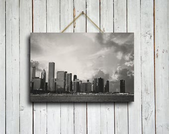 Skyline - Chicago photography - Chicago fine art - Chicago black and white photography - Chicago skyline - Chicago home decor