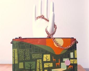 Summer Solstice (front image)- Winter Solstice (back image) Shoulder Bag
