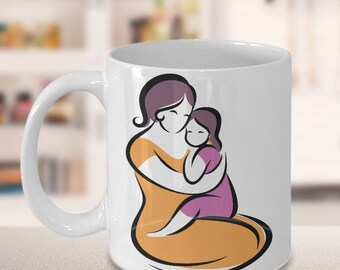Mother Daughter Mug - Best Mommy - Mom Coffee Cup
