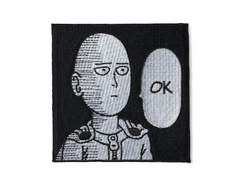 One Punch Man Patch Free Shipping
