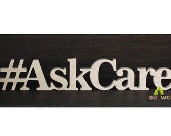Wooden hashtag. Wedding Instagram sign Social media Hashtag sign. Freestanding Wooden letters.