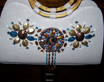 vintage jeweled handbag
