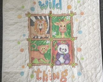 Wild Thing Jungle Baby Blanket