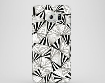 Party Triangles mobile phone case / Samsung Galaxy S7, Samsung Galaxy S6, Samsung Galaxy S6 Edge, Galaxy S5 / geometric phone case