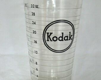Vintage Kodak 1 L Glass Beaker