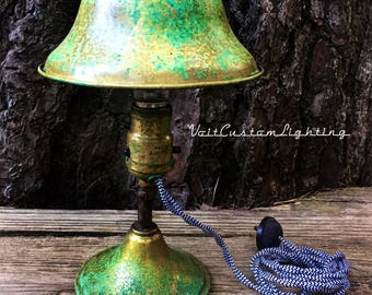 Rare Antique Brass Desk/Table/Sconce/Headboard Lamp