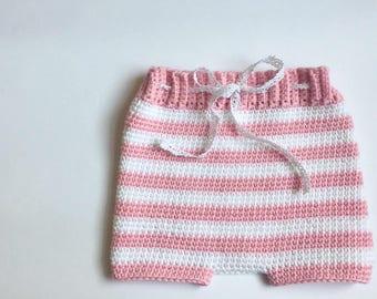 Crochet Baby Bloomers