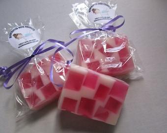 Pink Sugar- Handcrafted Glycerin Soap, Glycerin Soap.