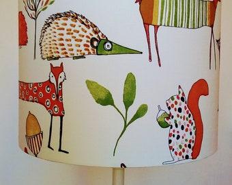 Woodland lampshade