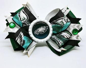 Philadelphia Eagles NFL Hair Bow Headband