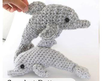 Easy Amigurumi Crochet Patterns For Beginners : Dolphin amigurumi crochet pattern