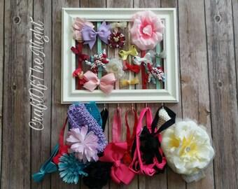 Bow holder-headband holder-baby girl-baby shower gift-organizer