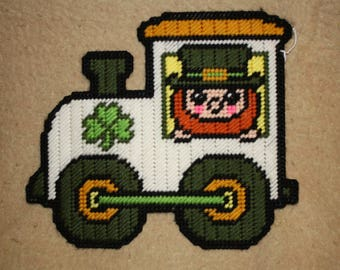 St Patrick Day 3 piece train