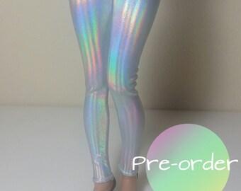 Opal holo Minifee leggings