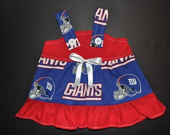 NFL New York Giants Baby Infant Toddler Girls Dress  You Pick Size