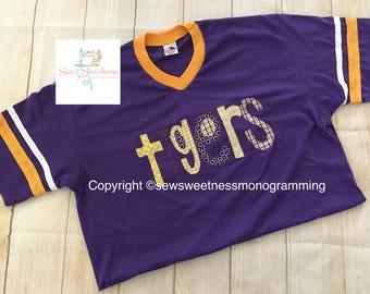 Lsu tigers jersey shirt