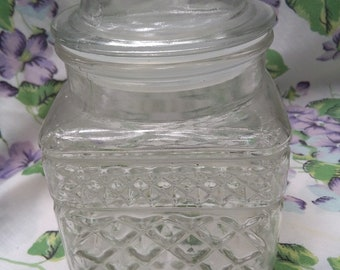 Anchor Hocking 1970s glass container