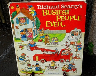 Richard Scarry  Set of Books  1976 1975