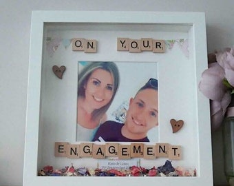 On your engagement scrabble gift