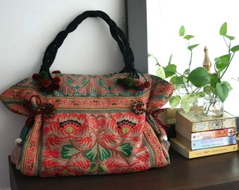 Unique Hmong bag from baby carrier (tote) for everyday