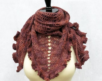 Crochet Pattern ~ Simplicity Shawl ~ Crochet Pattern