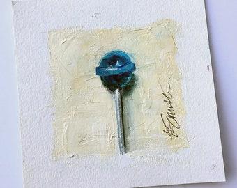 lollipop painting | candy art | pop art | candy painting | nursery decor | home decor | kitchen decor | lollipop | original art