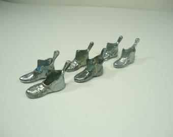 Set Of 6 Shoe Monopoly Game Pieces