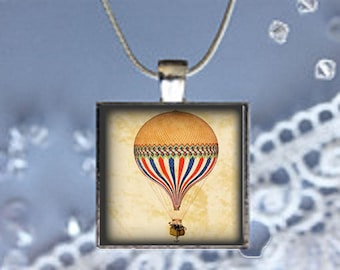 Pendant Necklace Hot Air Ballon