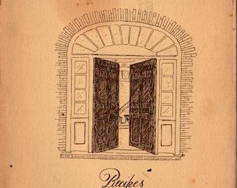 We Make You Kindly Welcome Shaker Recipes, Pleasant Hill, Kentucky + Elizabeth C. Kremer + Evalind K. Settle + 1988 + Vintage Cook Book