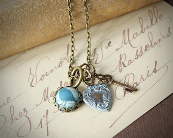 Providence - Sparrow Charm Necklace