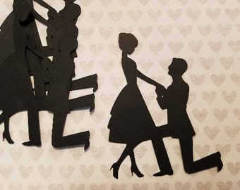 Die Cut Proposal Couple  #C-37