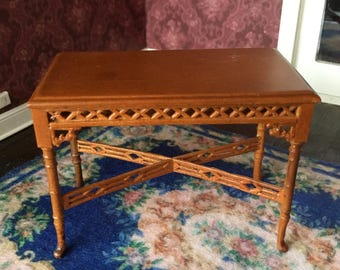 Vintage Dollhouse Table