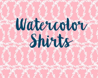 Tester Watercolor Shirts
