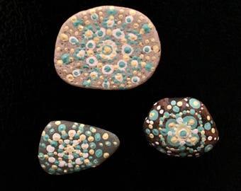 Mandala Fridge Magnet Set