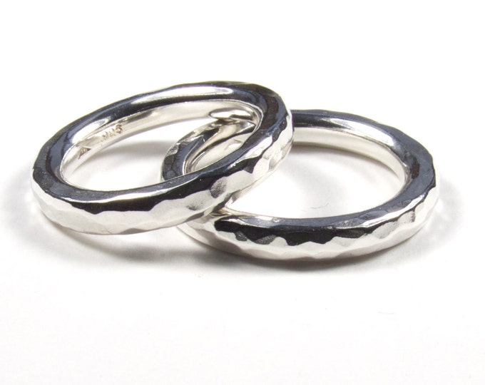 Matching 3mm Wedding Rings