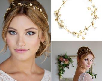Bridal Headdress | Wedding Hairvine | Hair Vine | Star Headdress