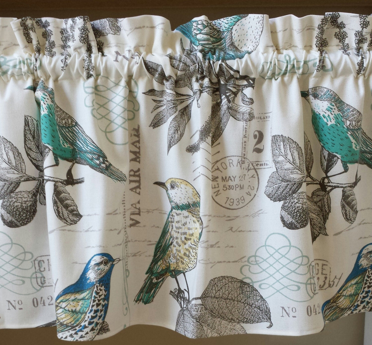 bird polyester shower p waterproof light grey curtains