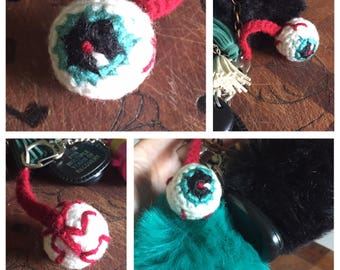 Eyeball Keychain Custom
