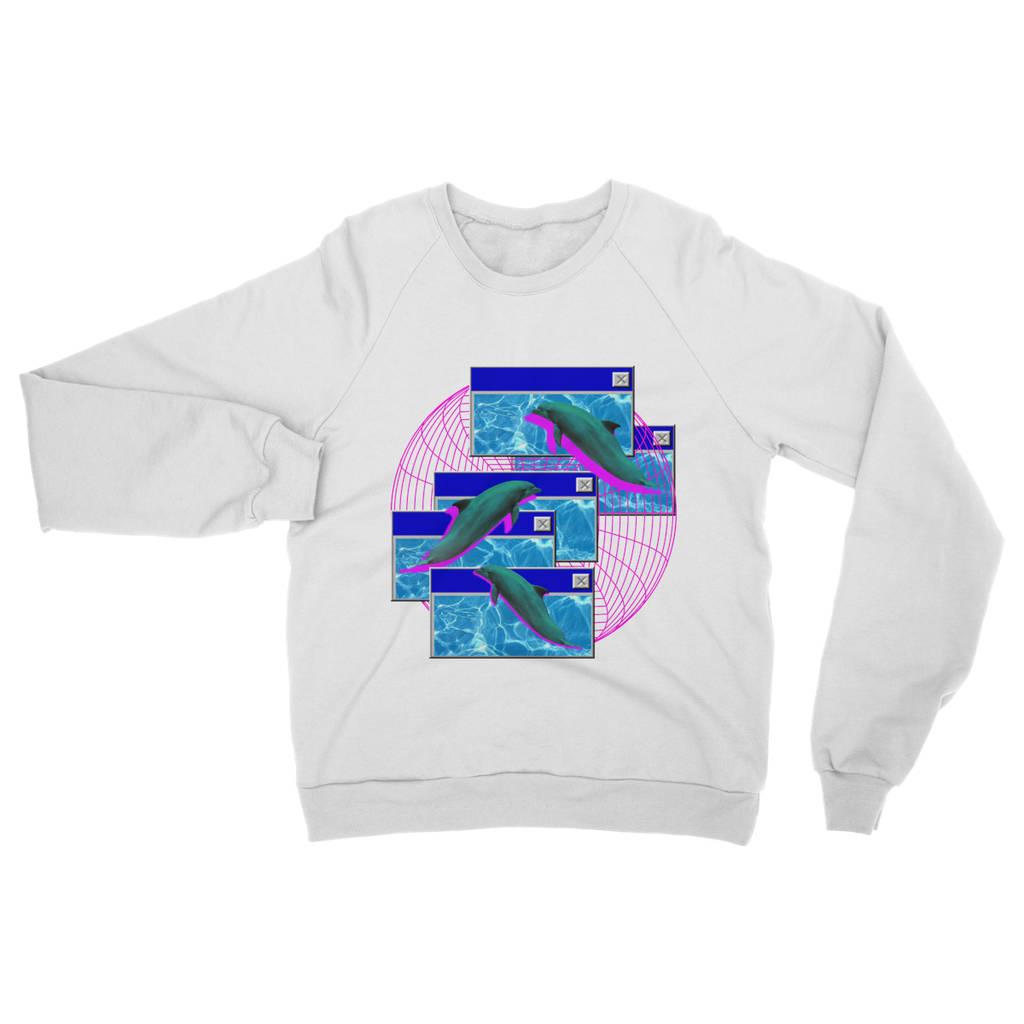 シ Vaporwave Aesthetic Triple Trouble Unisex Sweatshirt シ Wu1PzHHhE