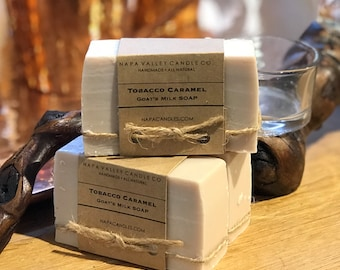 Tobacco Caramel - Handmade Natural Goats Milk Soap