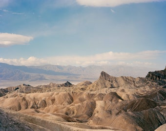 Zabriskie point Death Valley CA