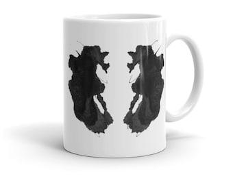 Rorschach Test Inkblot Art Mug 26