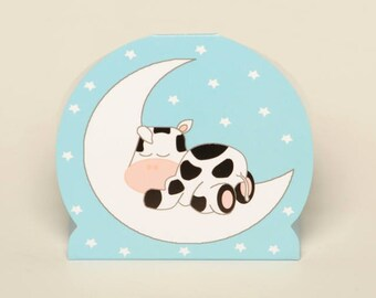 Cow and Moon favour boxes