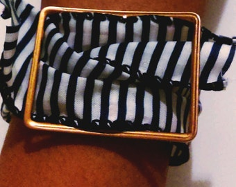 Stripe Buckle Bracelet