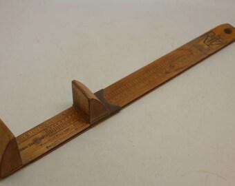 Vintage RITZ Foot and Shoe Measure - Shoe Measure - Foot Measure - Shoe Ruler