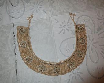 ANTIQUE FAUX PEARL Collar