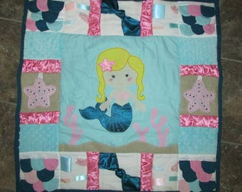 Mermaid Tummy Time Mat